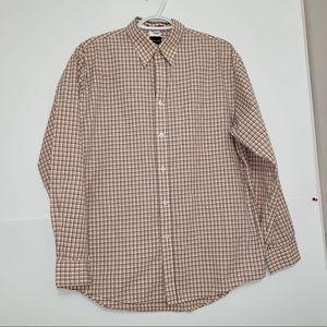 Arrow Poplin Cotton Tattersall Button Down Shirt